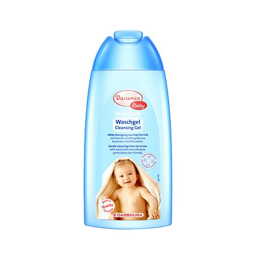 德国进口达罗咪婴儿洗发沐浴二合一 250ml