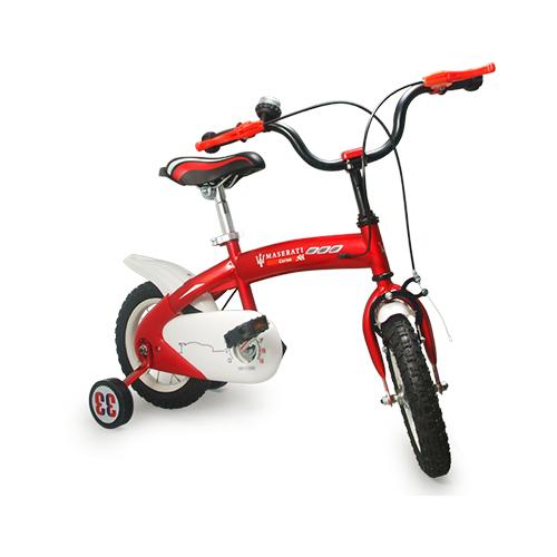 玛莎拉蒂儿童车 红色限量版 MSK1202 12寸