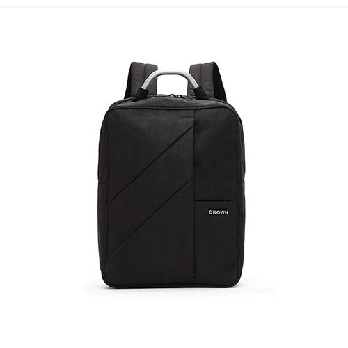 皇冠商务大容量电脑背包 EP1770A 质感黑