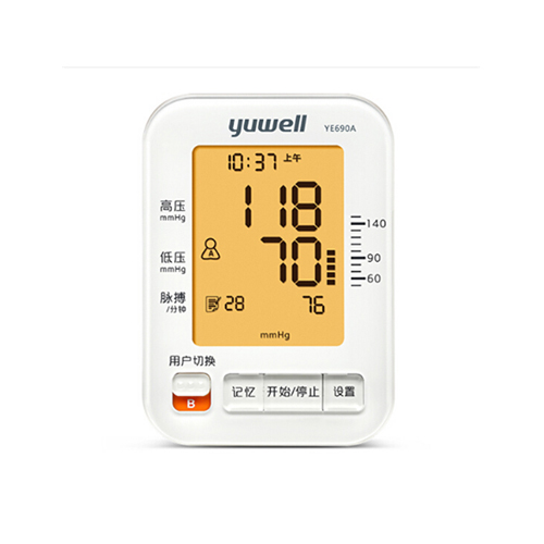 鱼跃家用智能+软袖带电子血压计 YE690A