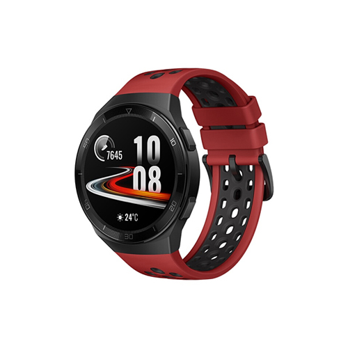 华为手表GT2E 46mm 运动版 熔岩红